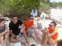 lunch time on badul island