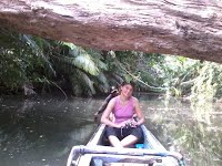 canoing along cigenter river