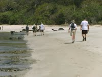 trekking through ciramea beach